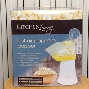 Kitchen Living Hot Air Popcorn Popper